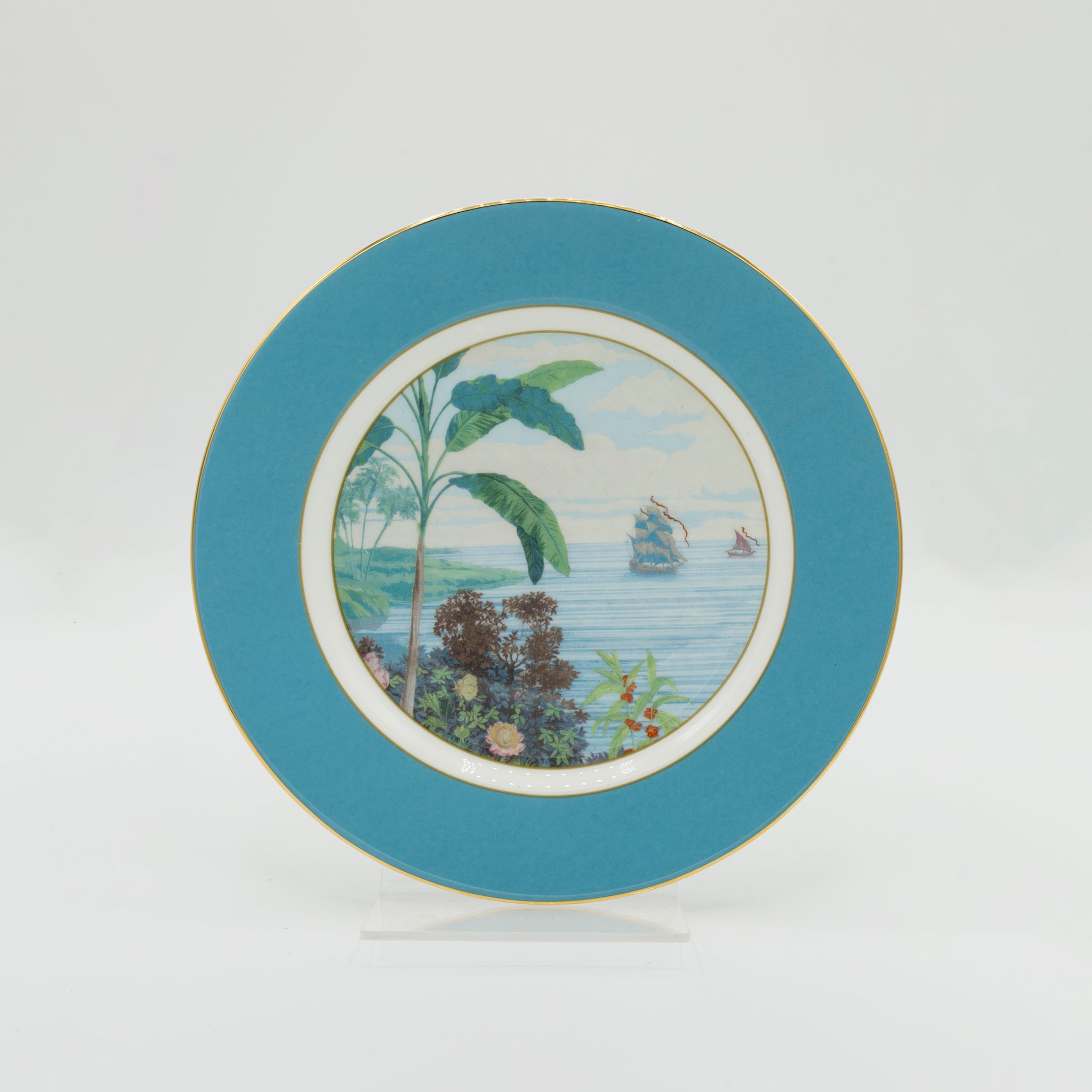 Indian Room Blue Side Plate