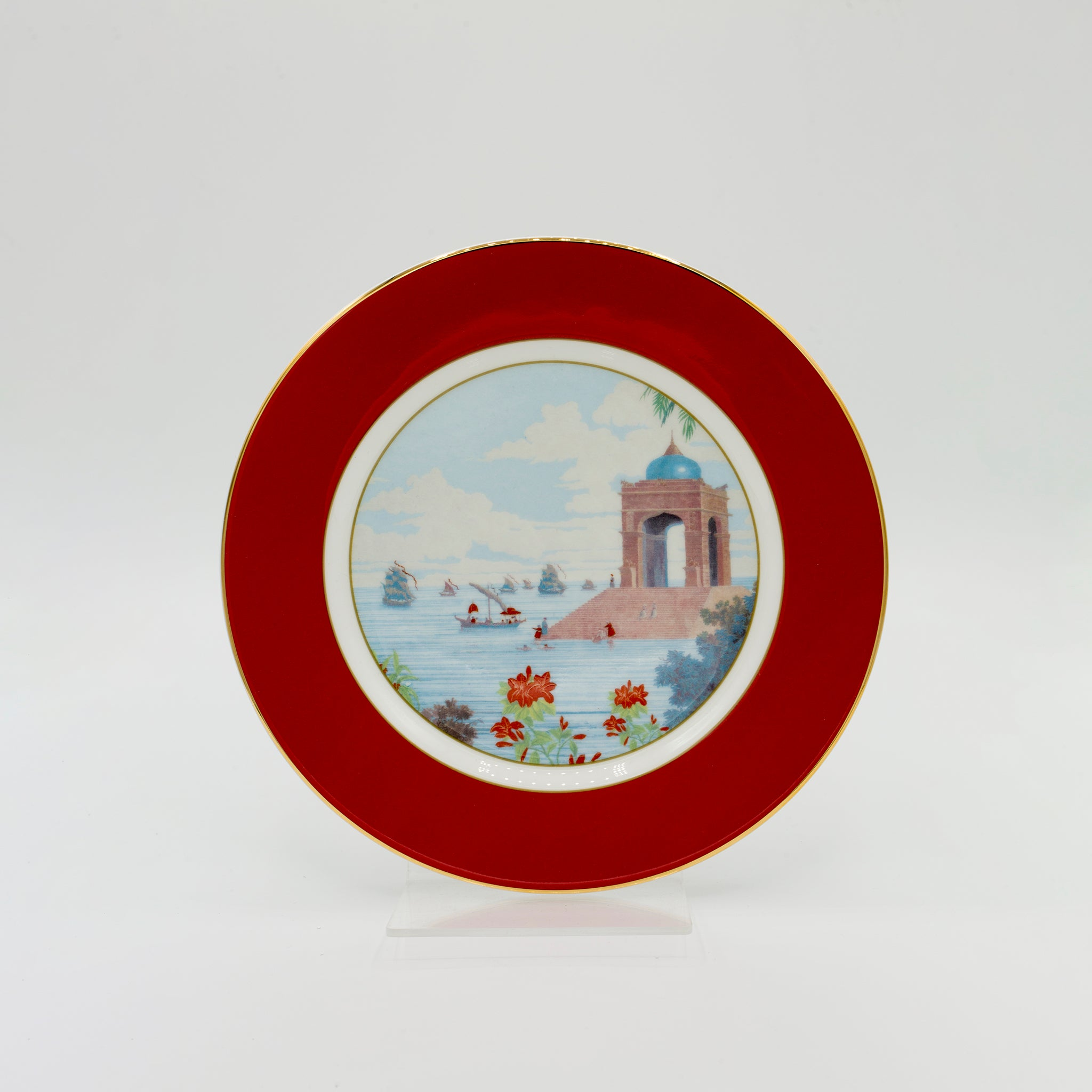 Indian Room Coral Side Plate