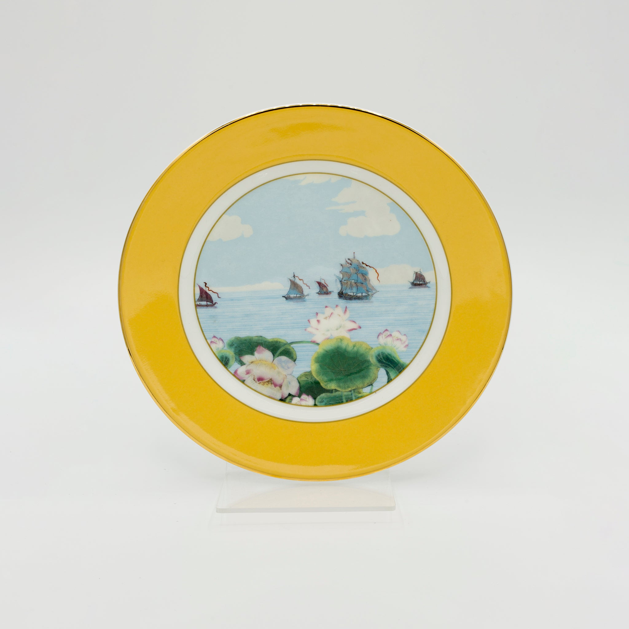 Indian Room Yellow Side Plate