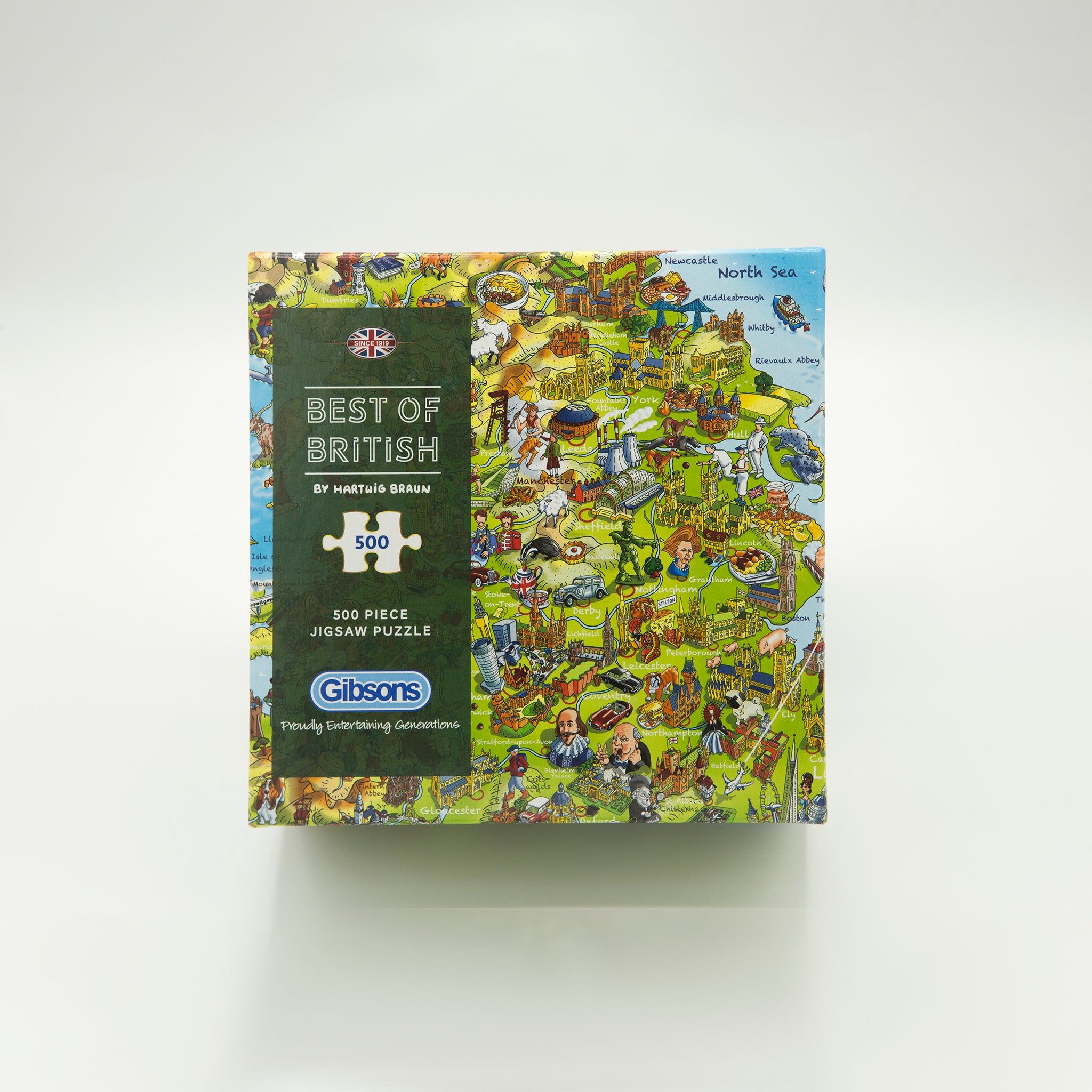 Best of British 500 piece Jigsaw