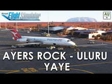 Load and play video in Gallery viewer, Ayers Rock - Uluru (YAYE) MSFS