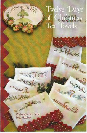 Tea Towels - 12 Days of Christmas