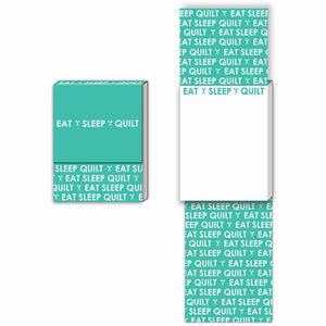 Pocket Notepad - Eat, sleep, quilt