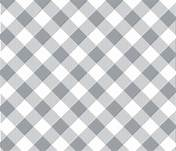 Bias Buffalo Plaid - Gray and White