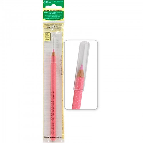 Clover - Pink Water Soluble Pencil