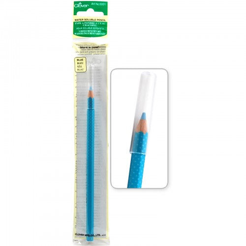 Clover - Blue Water Soluble Pencil