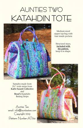 Katahdin Tote - Part I - Tuesday, May 18th; Part II - Thursday, May 20th:  10:00am - 1:00pm