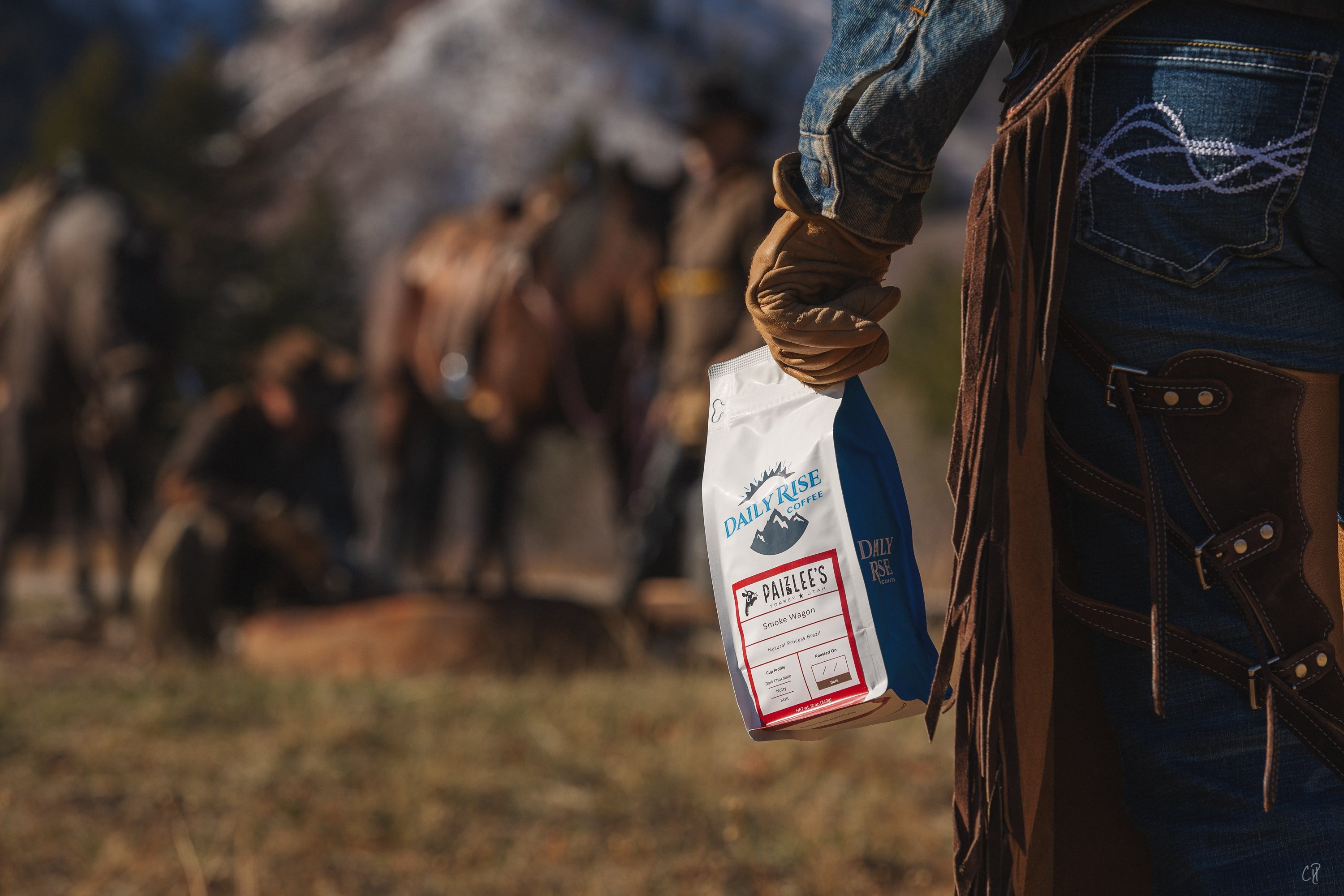 Smoke Wagon Blend by Paizlee's and Daily Rise Coffee Co.