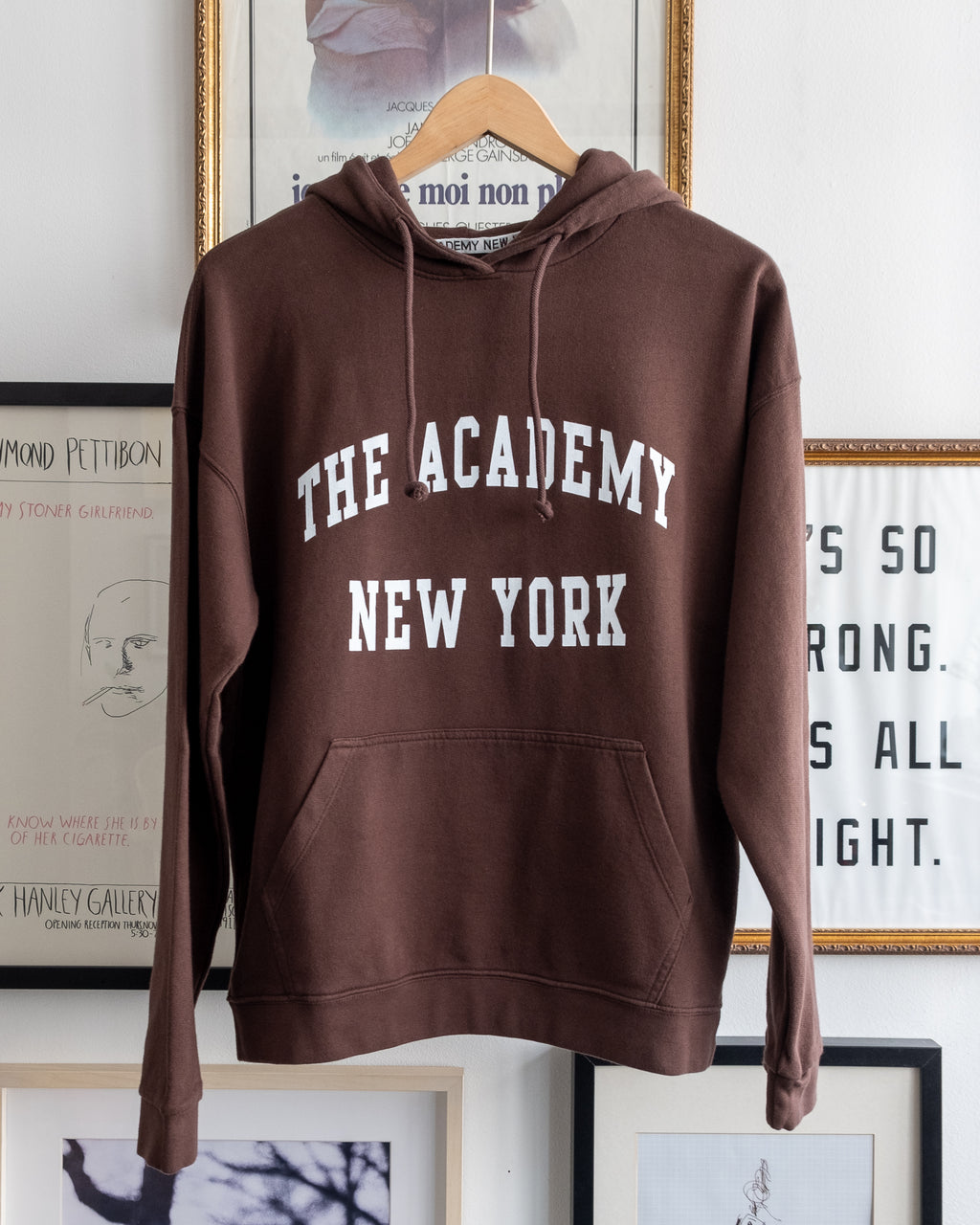 The Academy New York Logo Hoodie