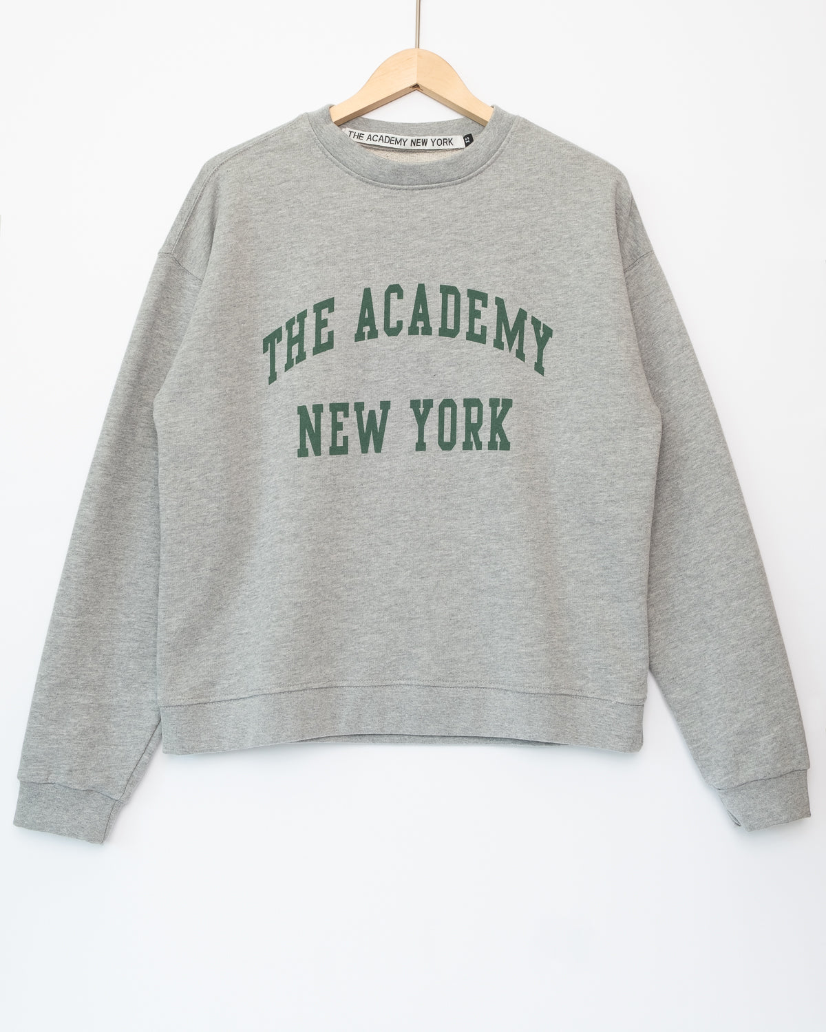 The Academy New York Box Fit Crewneck