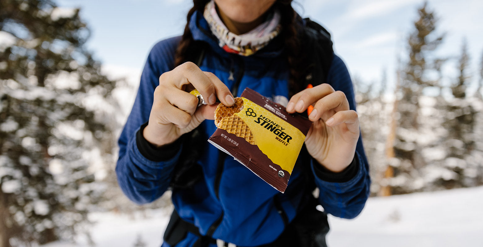 Honey Stinger Waffles are a great fuel for athletes