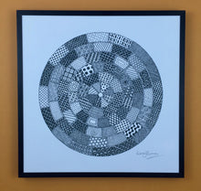 Load image into Gallery viewer, Manhole Covers. Circular digital print.