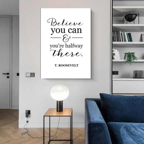 Believe You Can Metal Print