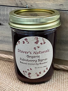 Organic Elderberry Syrup 8 oz.