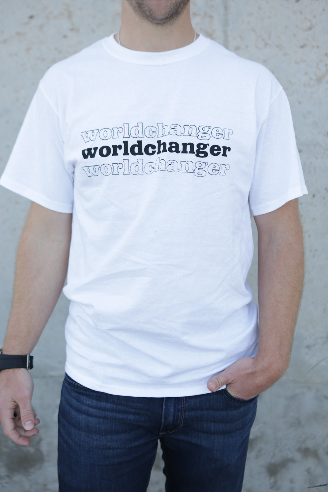 Worldchanger Unisex T-Shirt (black)