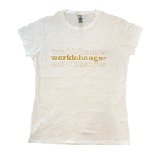 Load image into Gallery viewer, Worldchanger Women's T- Shirt (gold)
