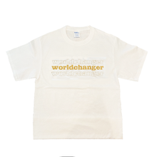 Load image into Gallery viewer, Worldchanger Unisex T-Shirt (gold)