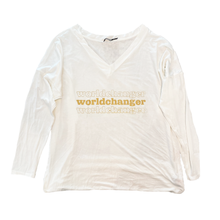 "Load image into Gallery viewer, Worldchanger ""Slouchy"" Women's Shirt"