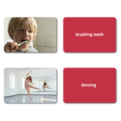 Verbs Flash Cards