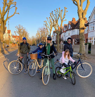 Family Cycling London
