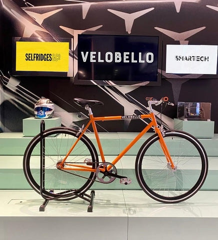 Velobello Cycles with Smartech at Selfridges London