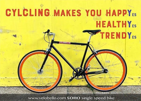 Cycling makes you healthier