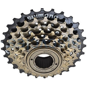 SHIMANO 6-Speed Cassette with Hyperglide