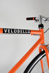 Soho Orange Fixed or Free Wheel Bike Northcote Road