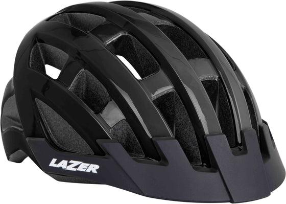 Lazer Compact Cycle Helmets Black