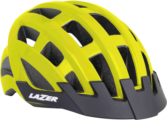 Lazer Compact Cycle Helmets Yellow