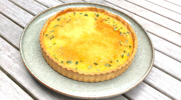 Gin and Lemon Tart