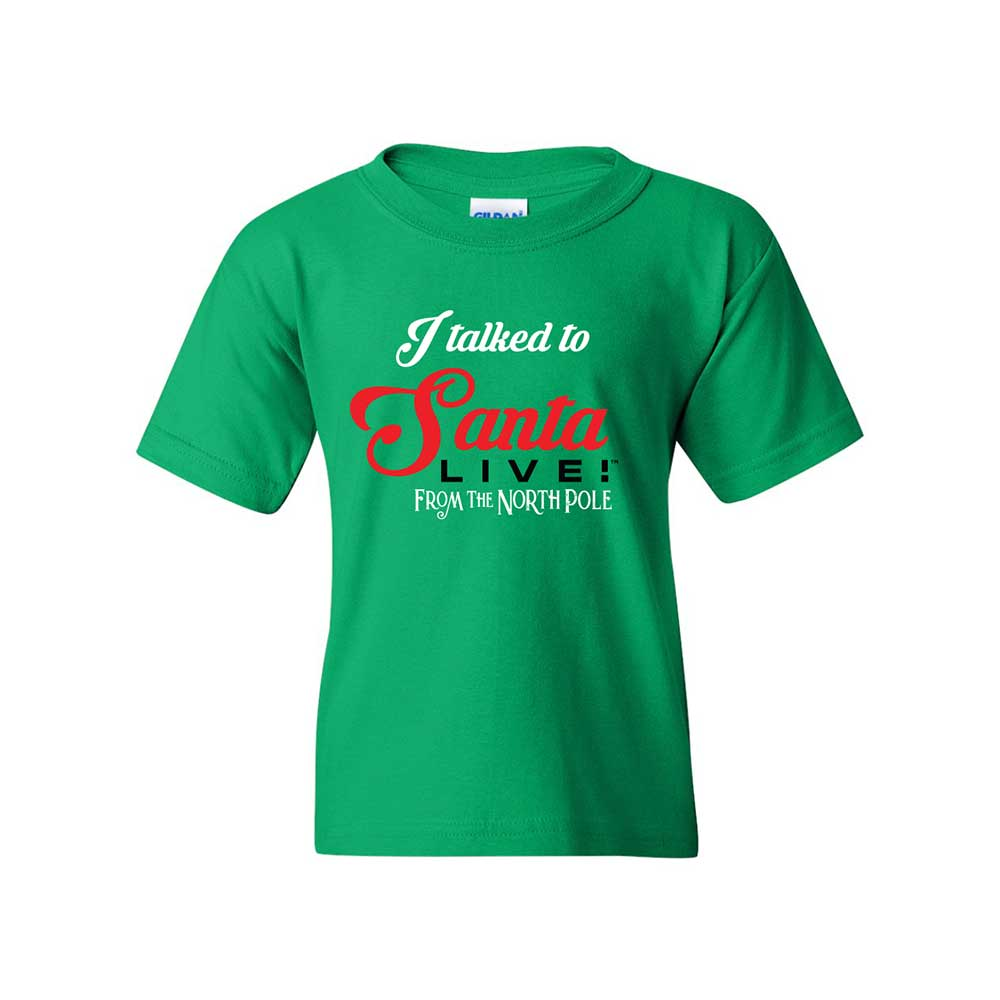 Santa Live Youth T-shirts
