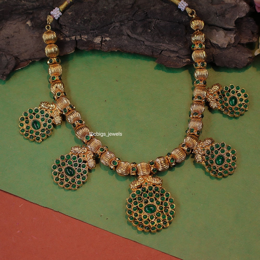 Antique Emerald Necklace