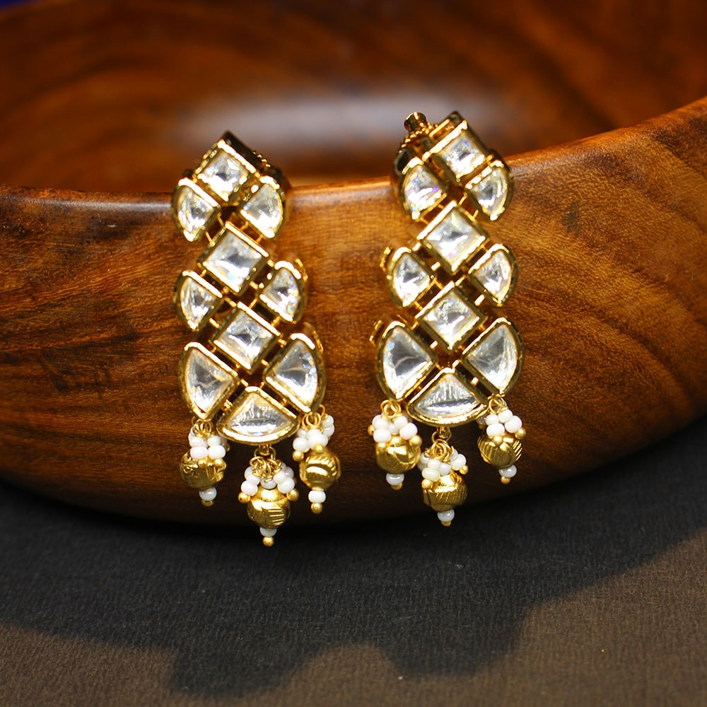 Kundan Earrings - 020