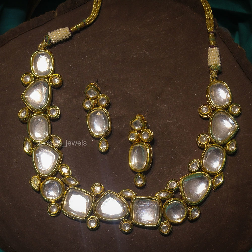 Handcrafted Designer Kundan Necklace
