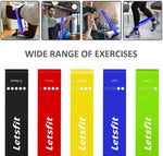 Resistance Loop Band with instructions and carrying bag - 5 resistances