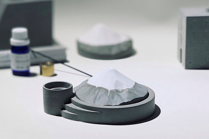 MUDLAB Fuji Mountain Diffuser + Incense Holder