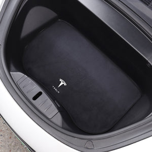Premium Front Trunk Flannel Mat - Model 3