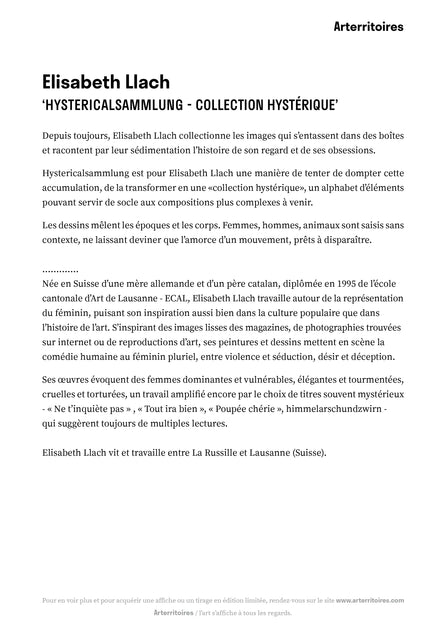Hystericalsammlung - Collection hystérique