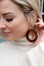 Load image into Gallery viewer, Makaya Earrings - Mahogany