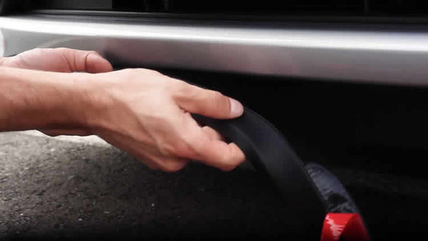 Press the EZ Lip firmly against the surface of your vehicle
