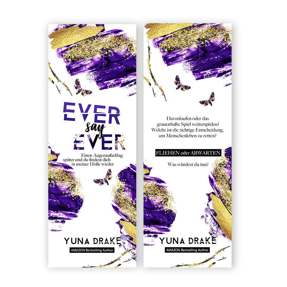 Lesezeichen | EVER say EVER
