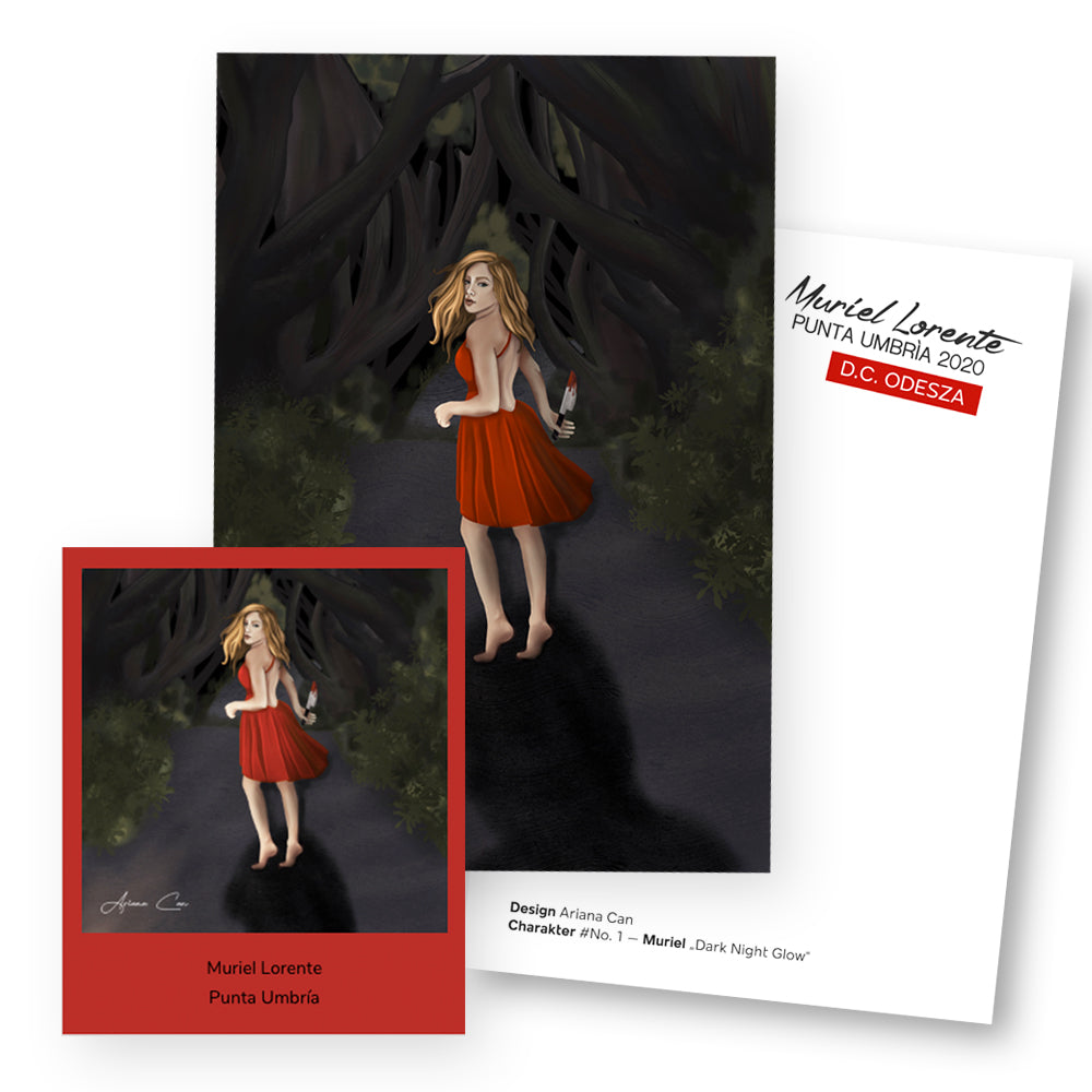 Polaroid–Bookcard Set | Muriel