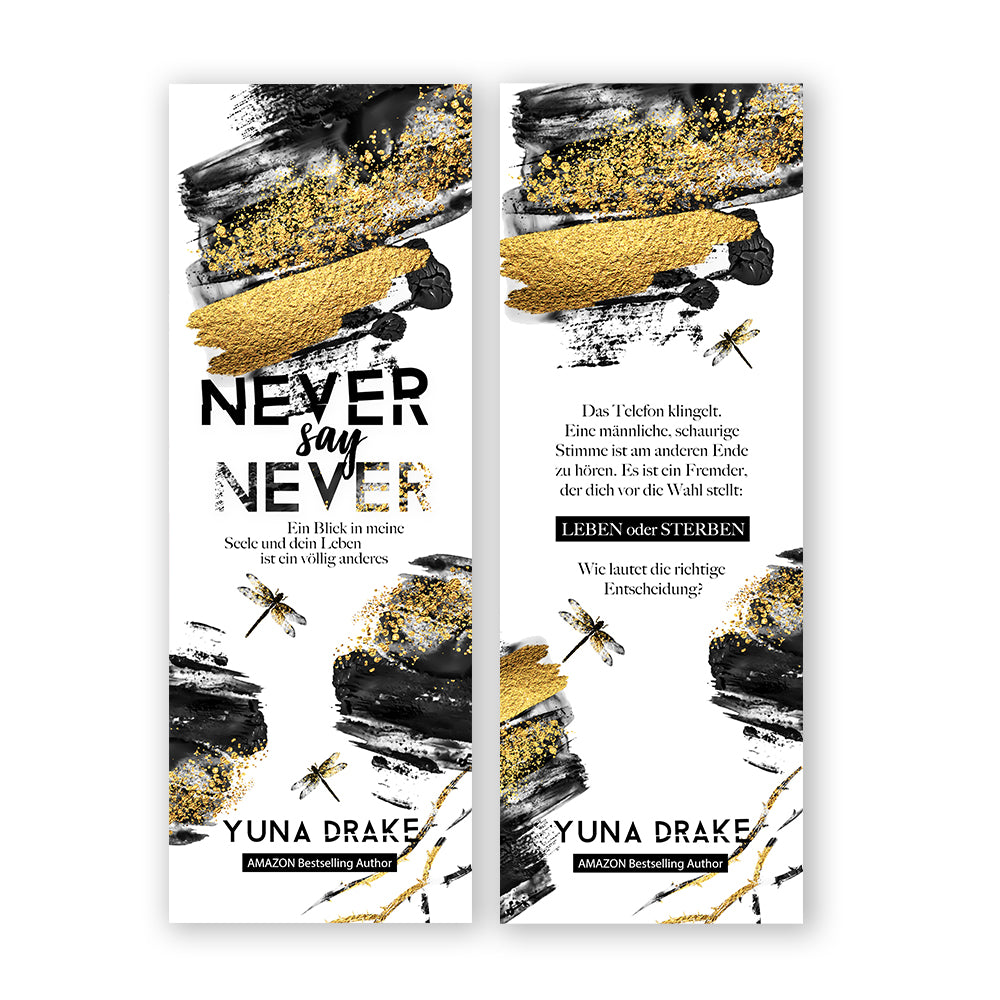 Lesezeichen | NEVER say NEVER
