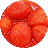 "Organic Whole ""Hand-peeled"" Italian Tomatoes"