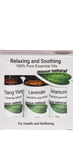 Relaxing and Soothing Aromatherapy Oils Box Set