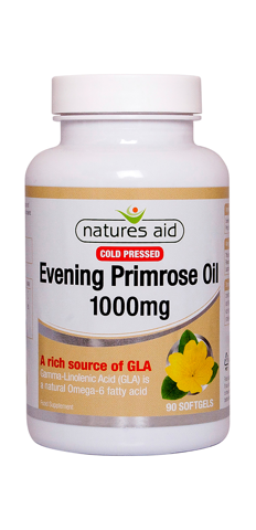Cold Pressed Evening Primrose Oil 1000mg