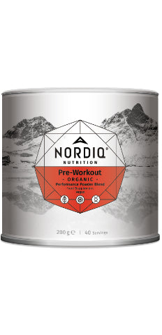 Pre-Workout Powder - Organic