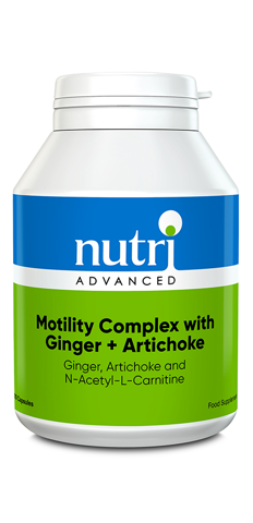 Motility Complex with Ginger + Artichoke