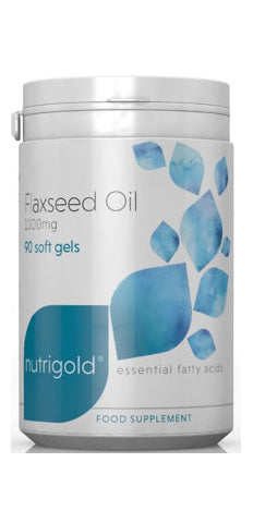 Flaxseed Oil 1000mg Softgel Capsules
